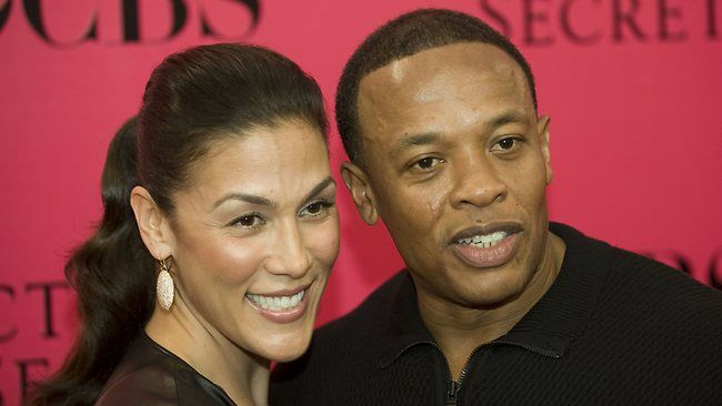 Dr Dre et Nicole Young