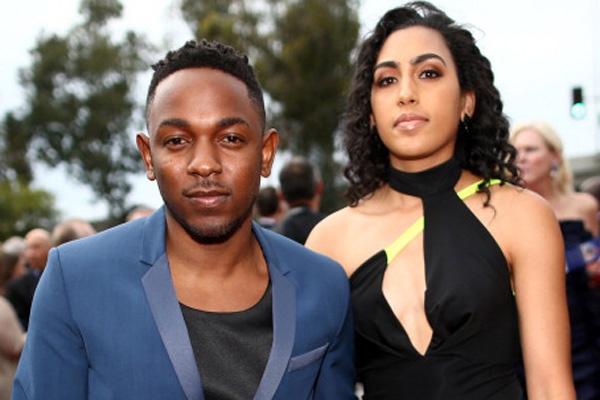 Kendrick Lamar et Whitney Alford