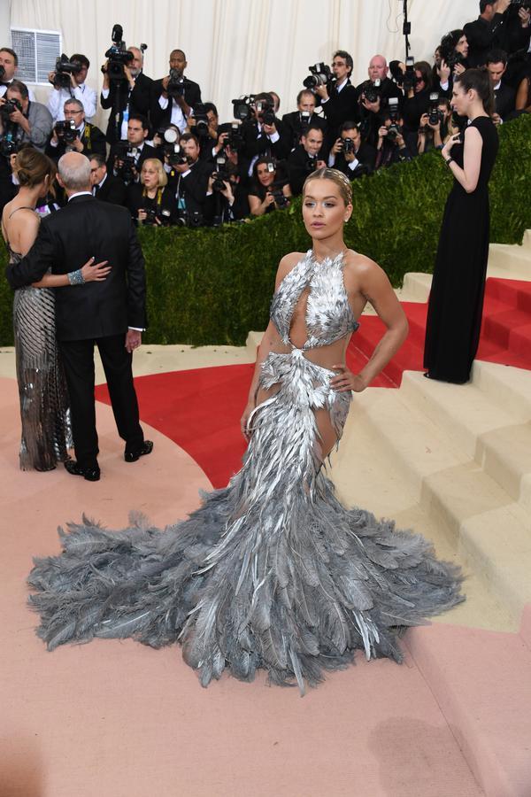 Rita Ora était sensationnelle. On aurait dit une reine.